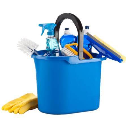 wiadro o akcesoria do sprzątania